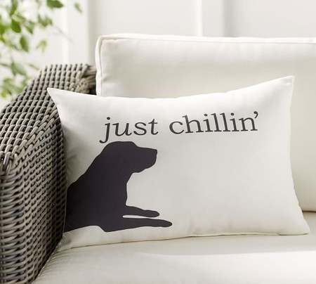Chill Dog Indoor/Outdoor Lumbar Cushion
