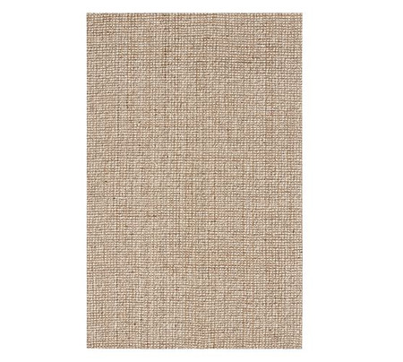 Chunky Wool & Natural Jute Rug