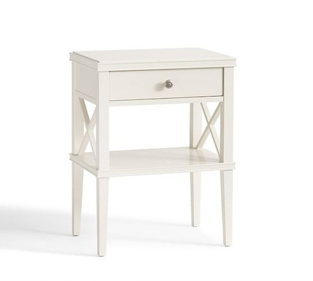 Clara Lattice Narrow Bedside Table