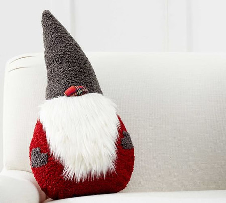 Clarke Gnome Shaped Cushion