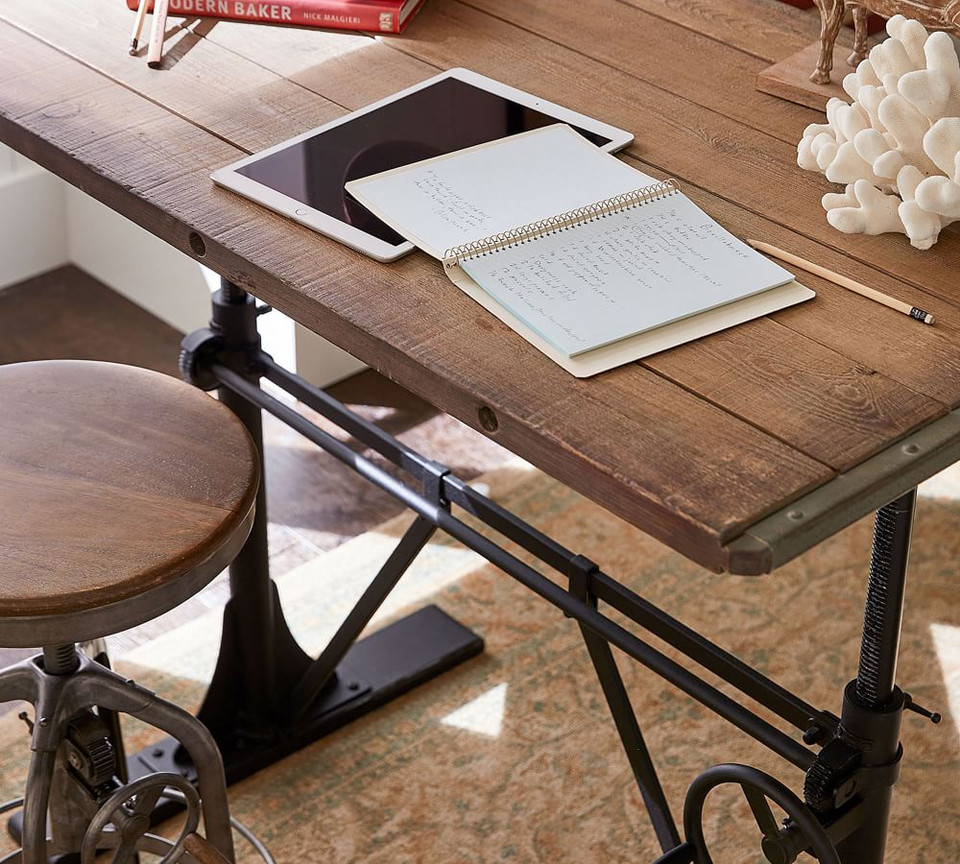 Pottery Barn Pittsburgh: Pittsburgh Crank Sit-Stand Desk
