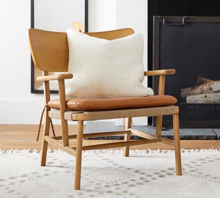 Danish Leather Chair Pottery Barn Australia