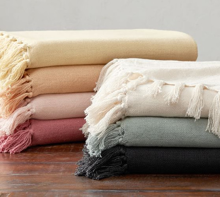 Dayton Linen Throw