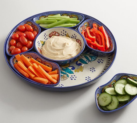 Del Sol Melamine Condiment Server