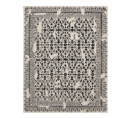 Elva Tufted Rug - Black Multi