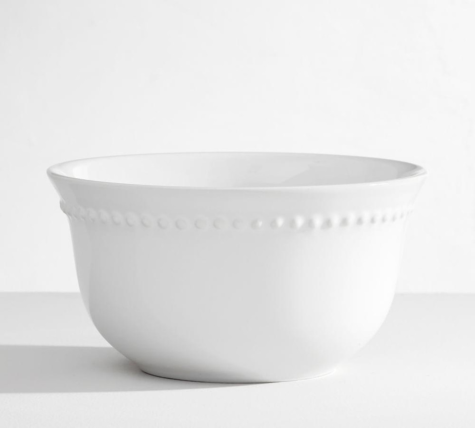 Emma Cereal Bowl - True White