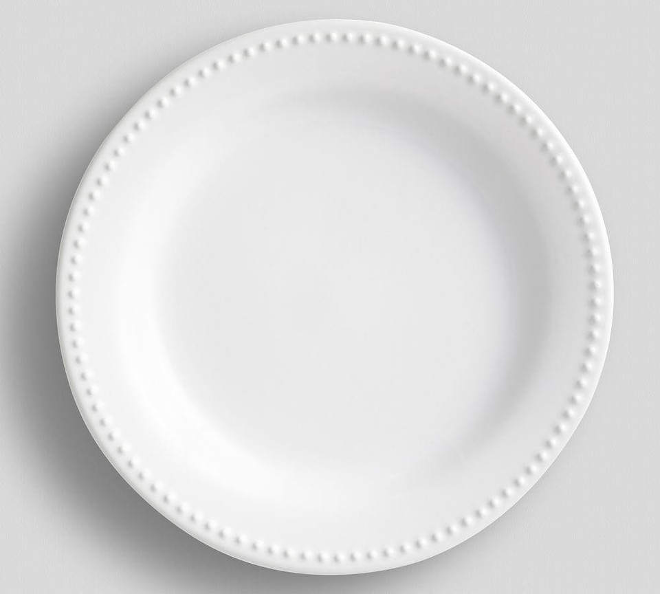 Emma Dinner Plate -True White