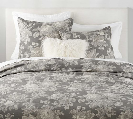 Erma Floral Print Quilt Cover & Pillowcases
