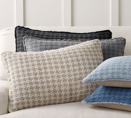 Fenton Two-Toned Lumbar Cushion Covers