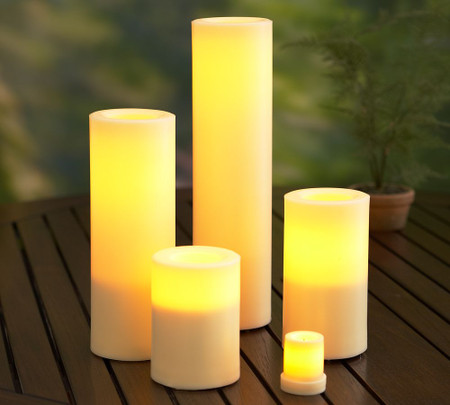 Flameless Outdoor Grand Candle