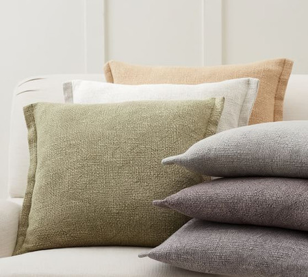 Fold-Over Linen Cushion Covers