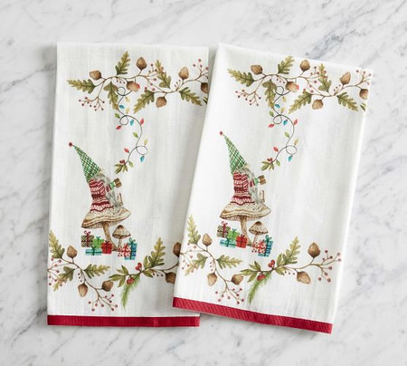 Forest Gnome Guest Towels