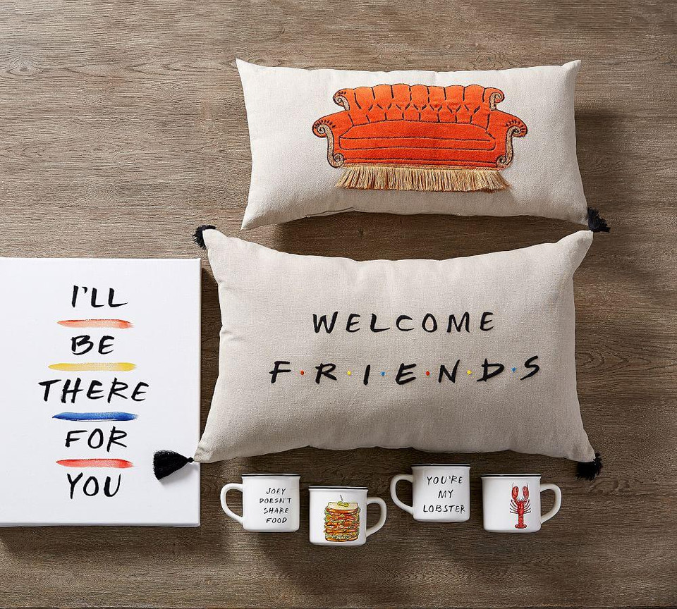 Friends Welcome Cushion