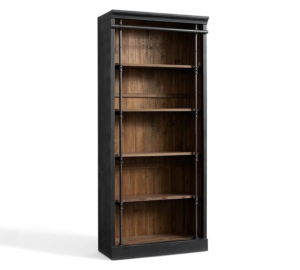 Gavin Reclaimed Wood Bookcase Pottery Barn Australia