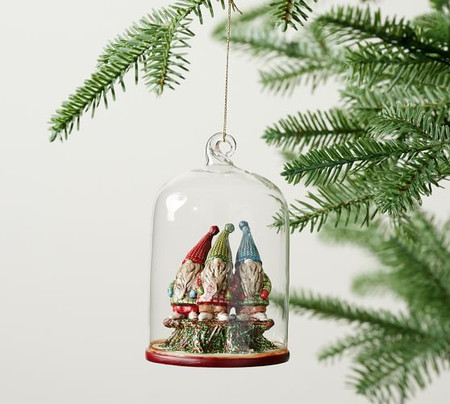 Gnome Cloche Ornament