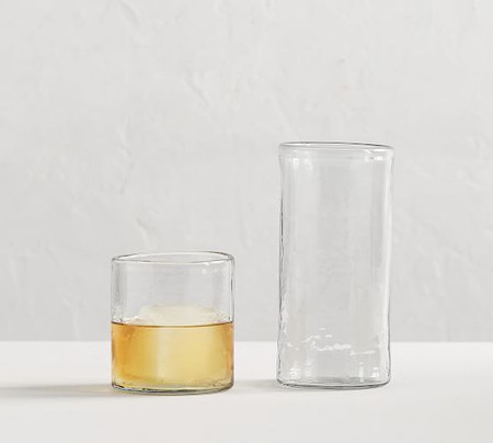 Hammered Cocktail Glasses