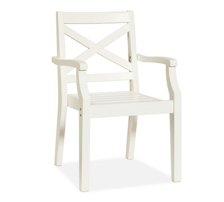 Hampstead Stacking Dining Chair - White