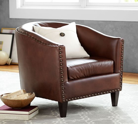 Harlow Leather Armchair