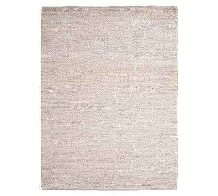 Heather Chenille Jute Rug - Grey