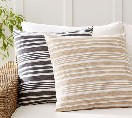 Melilla Striped Indoor/Outdoor Cushions