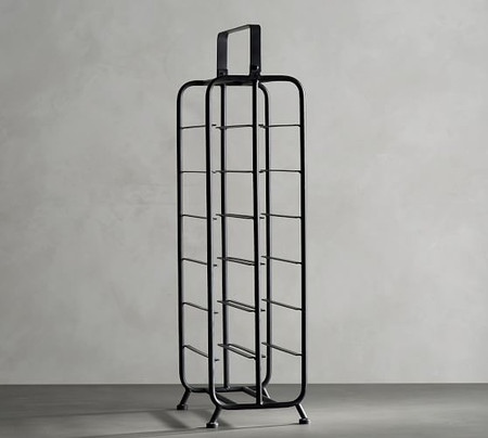 Iron Caddy Tall Wine Rack