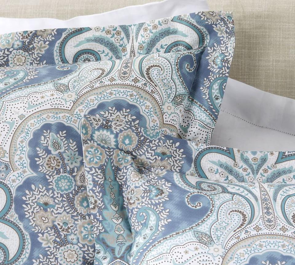 Jordana Paisley Percale Pillowcases Pottery Barn Australia