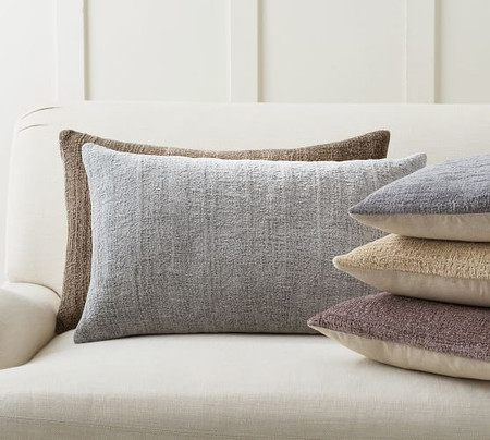 Journey Chenille Jacquard Lumbar Cushion Covers
