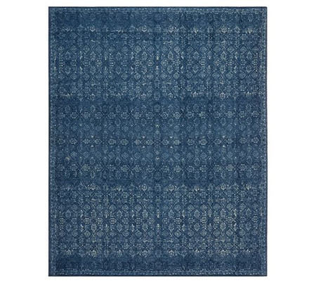 Kala Printed Rug - Midnight