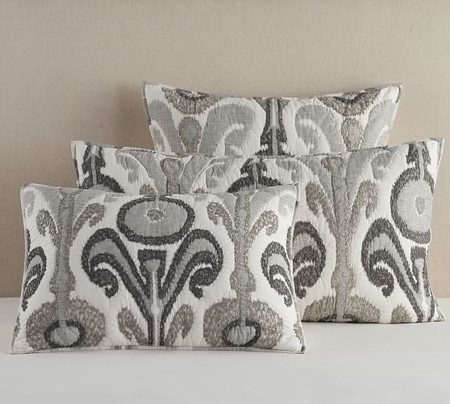 Kenmare Printed Quilted Pillowcases