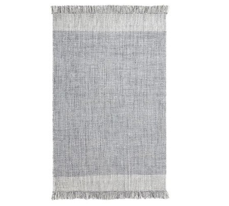 Kian Recycled Material Indoor/Outdoor Rug - Chambray