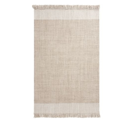 Kian Recycled Material Indoor/Outdoor Rug - Khaki