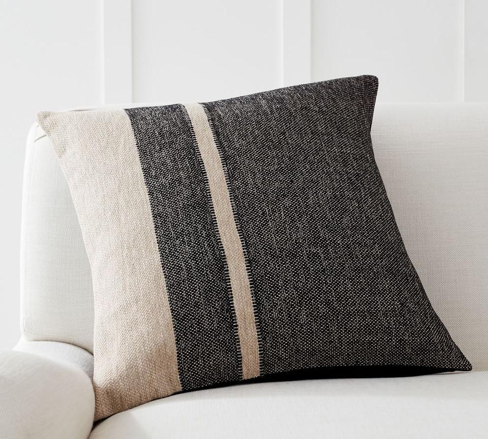 Kimana Striped Cushion Cover Pottery Barn Australia