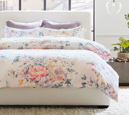 Kinsley Floral Organic Cotton Quilt Cover & Pillowcases