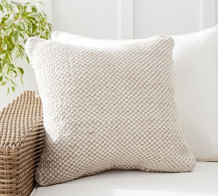 Laverna Eco-Friendly Textured Indoor/Outdoor Cushion