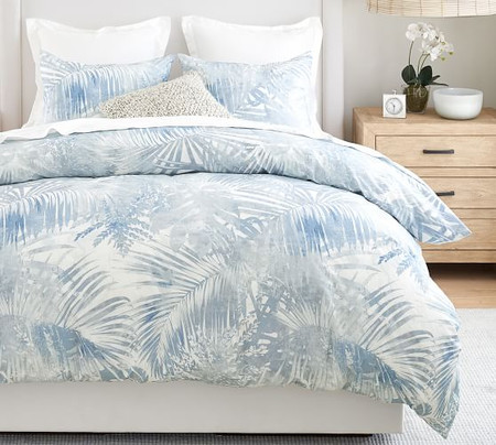 Layla Palm Organic Cotton Quilt Cover & Pillowcases