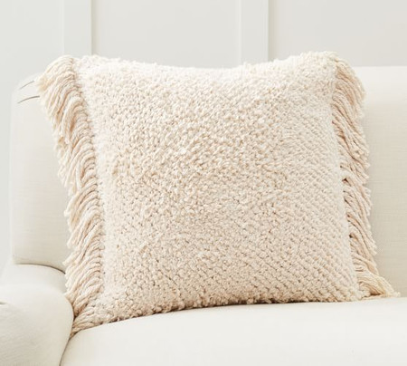Lucy Textured Chenille Cushion Cover