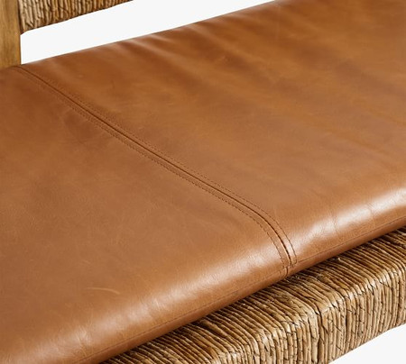 Malibu Leather Bench Cushion