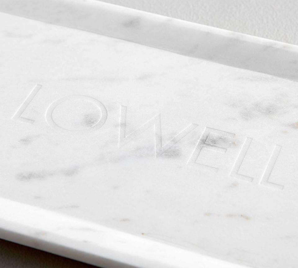 White Marble Long Cheese Board Pottery Barn Australia