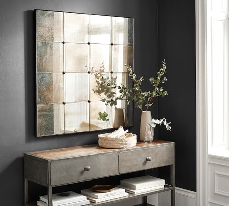 Markle Antique Panel Mirror