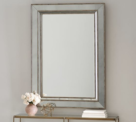 Marlena Antique Mirror Rectangle