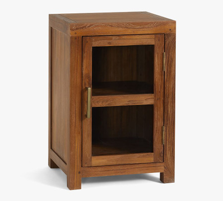 Menlo Reclaimed Teak Cabinet Bedside Table