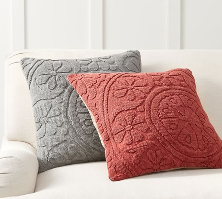 Mia Embroidered Cushion Covers
