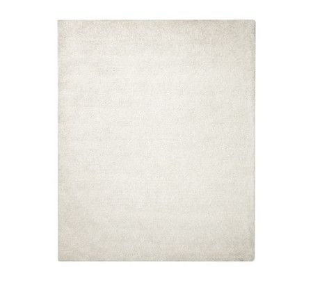 Microplush Shag Easy Care Rug - Ivory