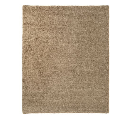 Microplush Shag Easy Care Rug - Khaki