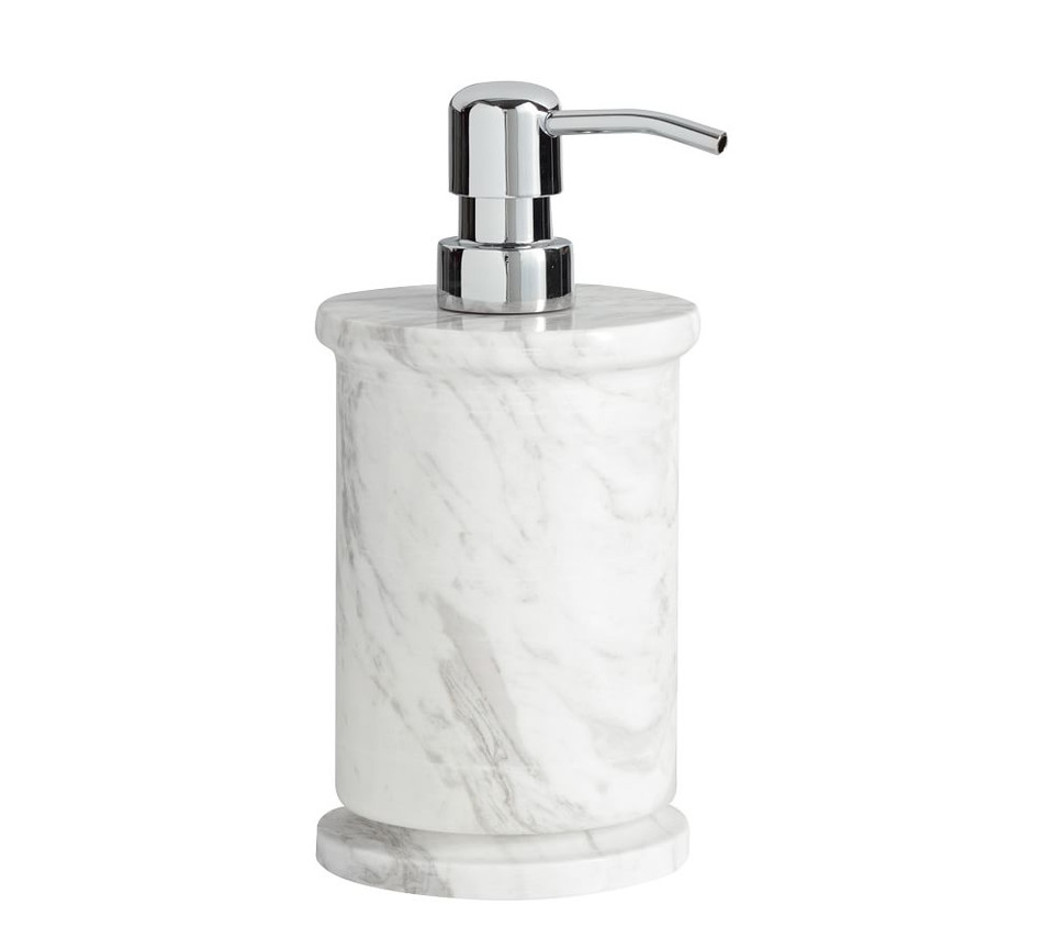 Monique Lhuillier Marble Bath Accessories