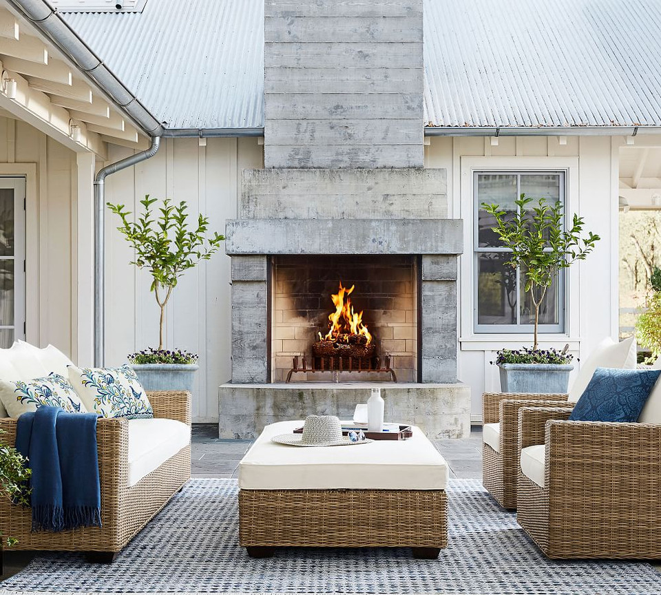 Oden Indoor Furniture Outdoor Furniture Rug Blue