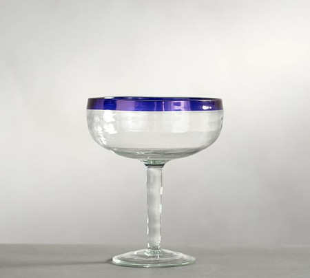 On the Rocks Acrylic Margarita Glass