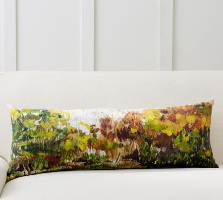 Painted Woods Lumbar Cushion
