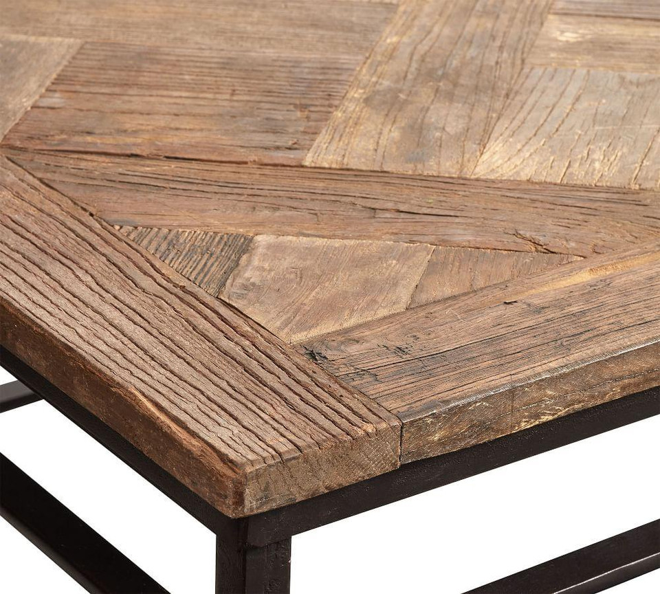 Parquet Side Table Pottery Barn Australia