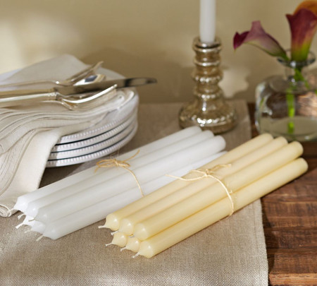 PB Boxed Taper Candles, Set Of 6